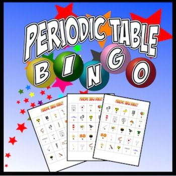 Periodic Table Bingo Differentiation, Periodic table and Activities - copy periodic table of elements quiz 1-18