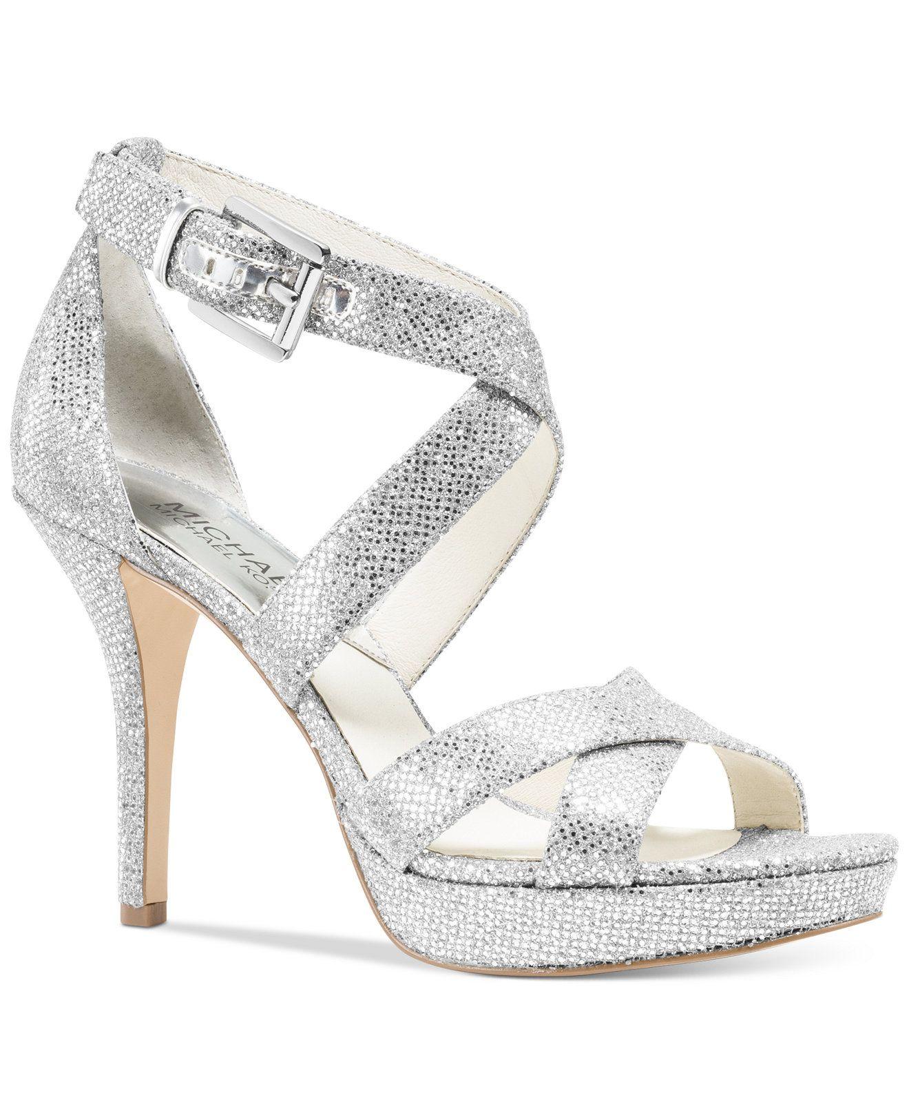 99.00 on sale MICHAEL Michael Kors Evie Platform Sandals
