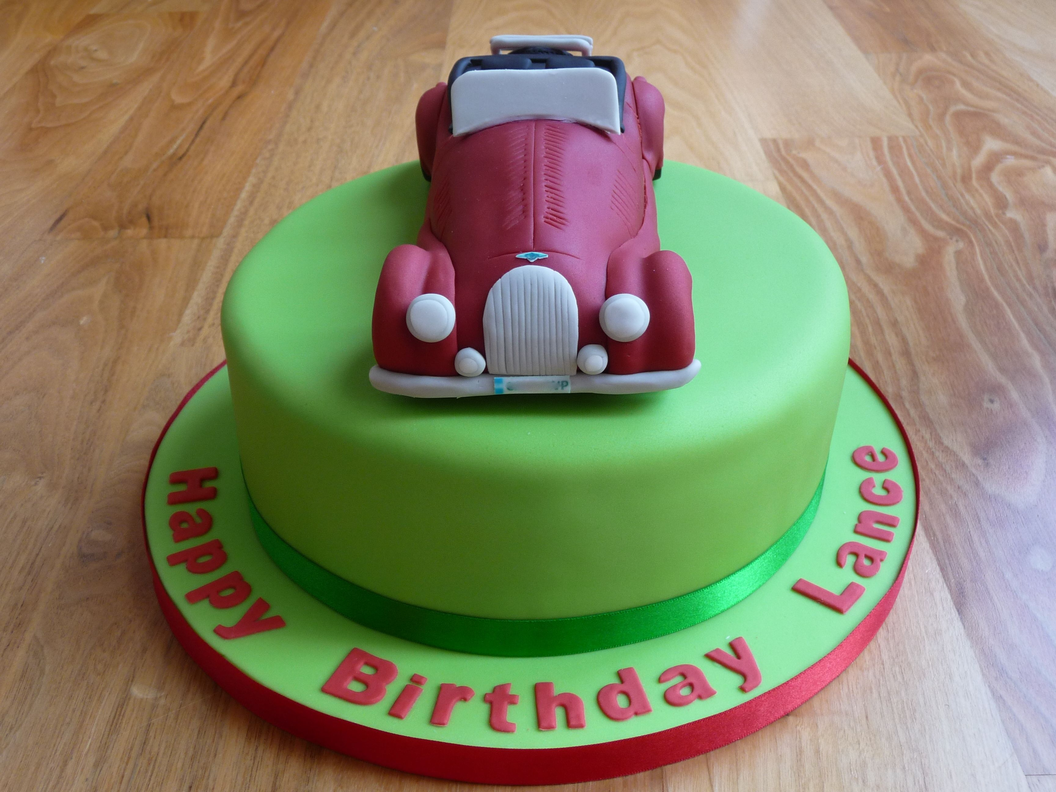 Morgan 4x4 car birthday cake Birthday Cakes Pinterest