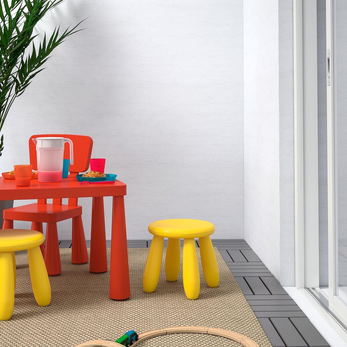 Mammut Kinderhocker Drinnen Draußen Gelb Ikea Österreich Kinder Hocker Kinderhocker Stühle Für Kinder