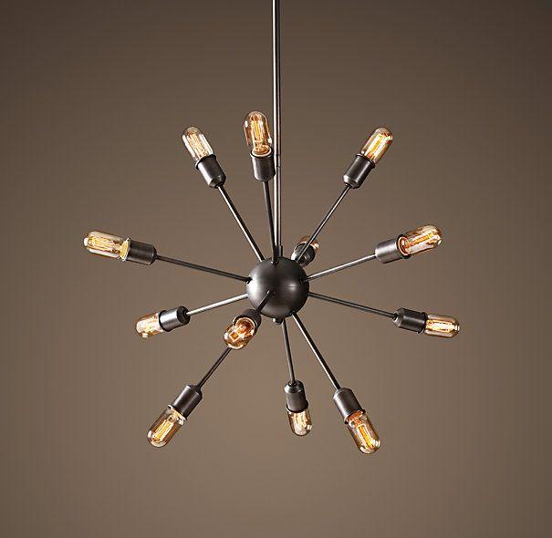 Dining rm sputnik filament chandelier aged steel medium dining rm sputnik filament chandelier aged steel medium chandeliers restoration hardware 795 aloadofball Gallery