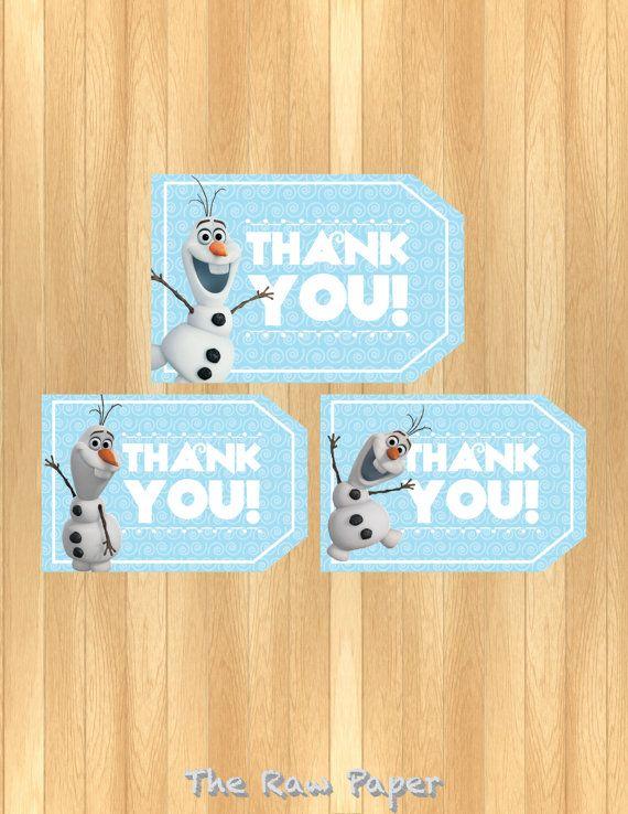 Thankyou Mousekeeping Envelopes Frozen Printable