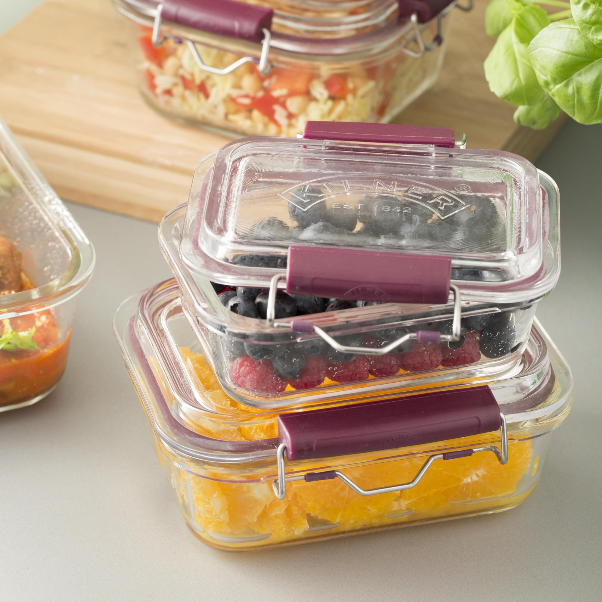 Kilner 750ml Fresh Food Storage Container In 2020 Glass Food
