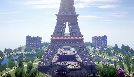 The Minecraft Equation The Worlds Greatest Minecraft Map Paris