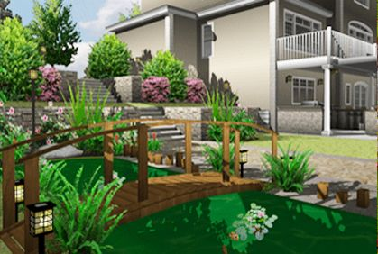 Photo 1 With Images Free Landscape Design Free Landscape Design Software Backyard Landscaping Designs