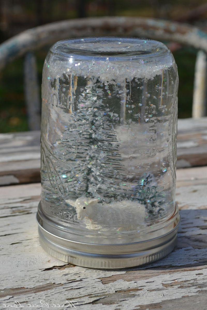 Last Minute Geschenk Ideen - Schneekugeln selber machen - DIY Anleitung finden Sie hier!