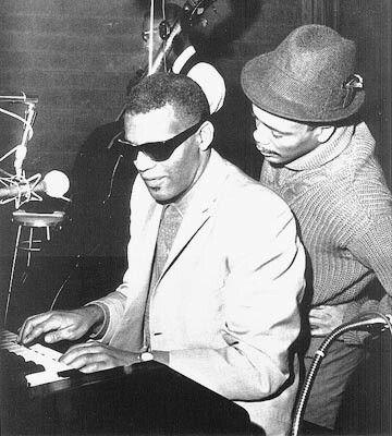 Ray Charles, Quincy Jones | Quincy jones, African american musicians, Ray  charles