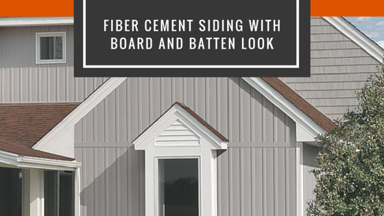 Board And Batten Fiber Cement Siding With Images Fiber Cement