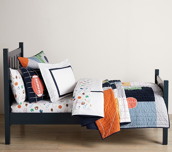 Field Day Bedding Look in 2020 Matching shams, Pottery