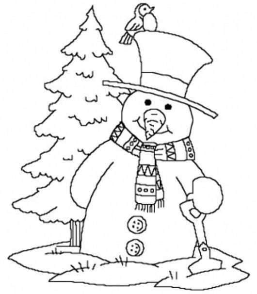 free winter tree coloring pages | christmas coloring sheets | Near Christmas Tree Christmas ...
