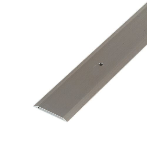 M D Building Products 49010 Premium Aluminum Flat Top Threshold 1 3 4 By 36 Inches Satin Nickel M D Building Prod M D Building Products Door Sweep Floor Trim