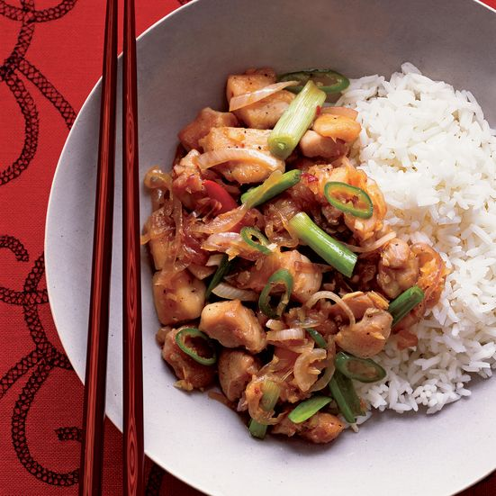 Spicy Lemongrass Chicken Recipe Spicy Woks And Stir Fry