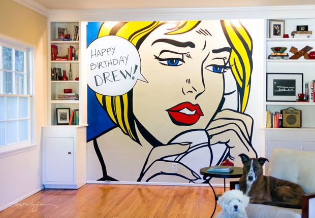 How To Diy Large Scale Pop Wall Art