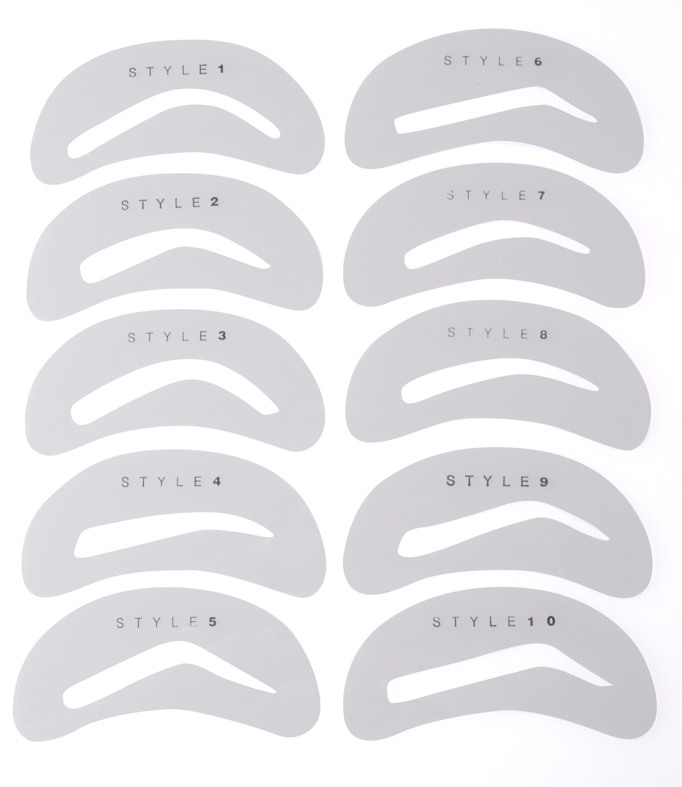 picture regarding Eyebrow Shapes Stencils Printable titled Pin upon Make-up Plans As very well as Recommendations