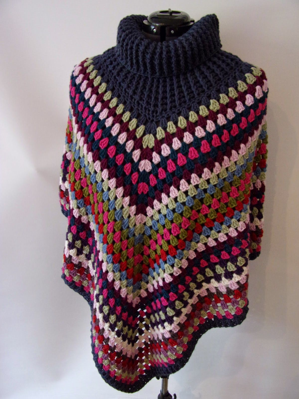 PamiStyle: Poncho Liebe * Simply Häkeln | Poncho | Pinterest | Liebe ...