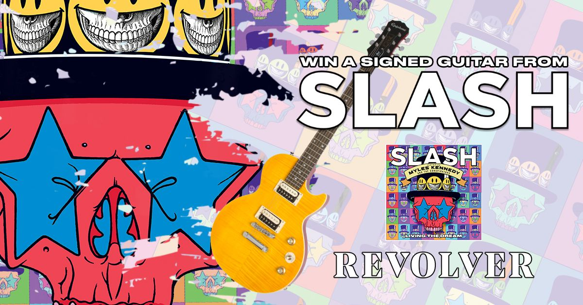 Help me to win this awesome giveaway from REVOLVER to win a