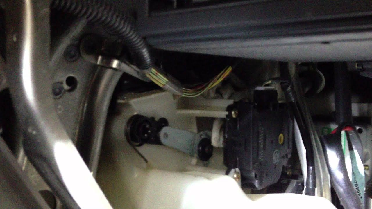 1999 Lexus Rx300 Bad Failing Mode Servo Motor Lexus Camry Toyota Camry
