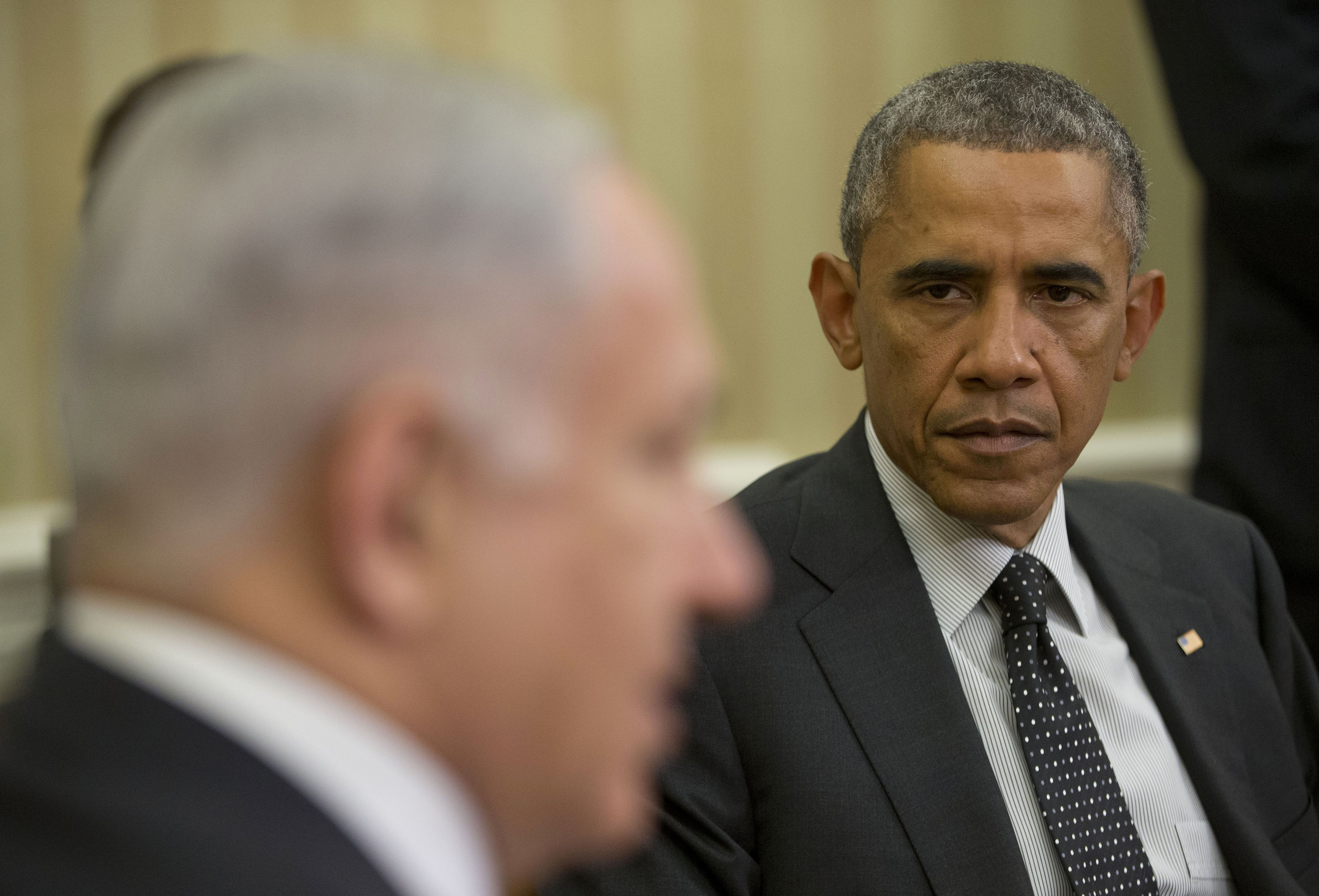 President Obama threatened to use the U.S. military to shoot down Israeli fighter jets last year if they attempted to destroy Iranian nuclear facilities, the Bethlehem news agency Ma'an reported Sunday.