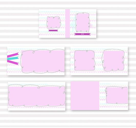 Hey, I found this really awesome Etsy listing at https://www.etsy.com/listing/190325770/morden-and-simple-photo-album-template