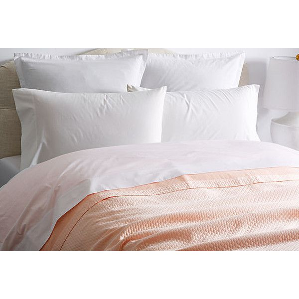 Matouk Pearl Coverlet Nectar Coverlets ($199) ❤ Liked On Polyvore Featuring  Home, Bed