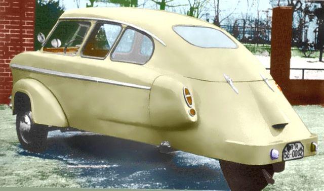 1954 Bassons Tri-Car Stationette