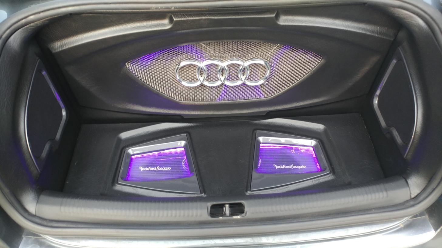 Trunk Build I Recently Finished For My 2007 Audi A4 Custom Car Audio Car Audio Installation Car Audio