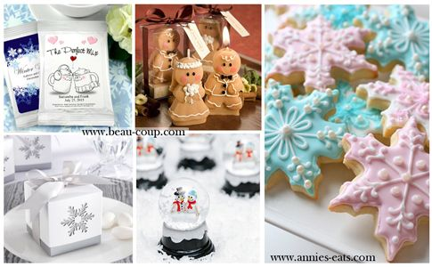 Christmas Wedding Favors From Beau Coup And Annies