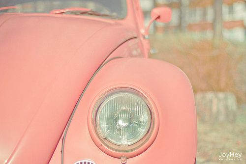 #pink #fusca