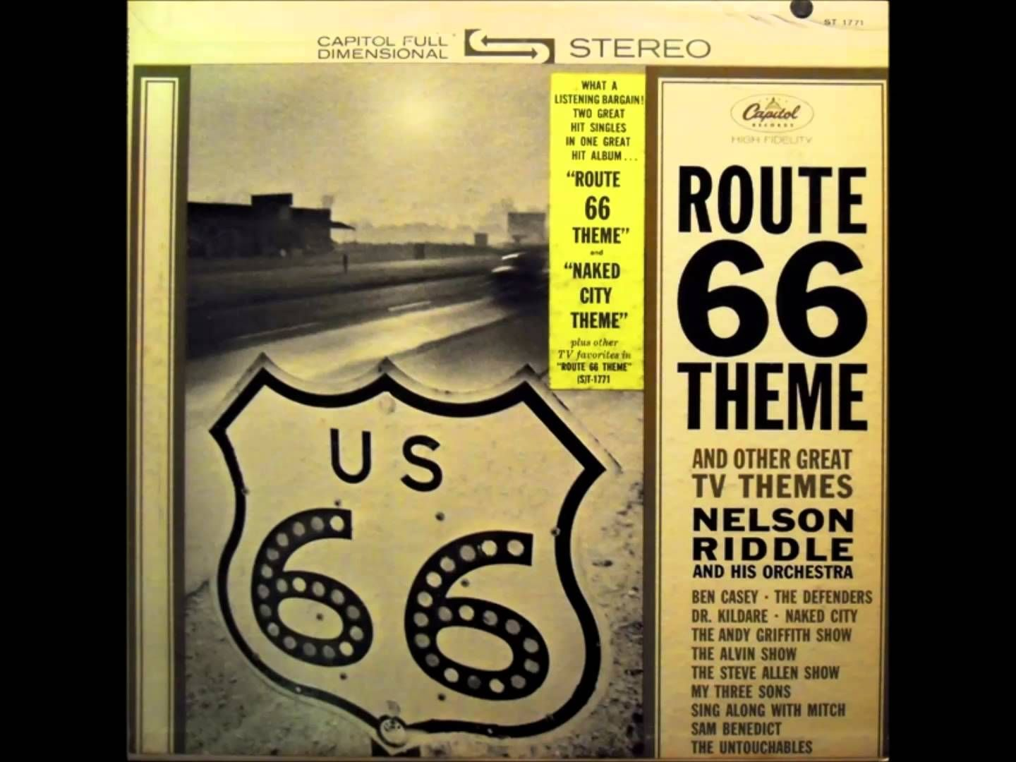 N Riddle LP Tv themes, Riddles, Nelson riddle
