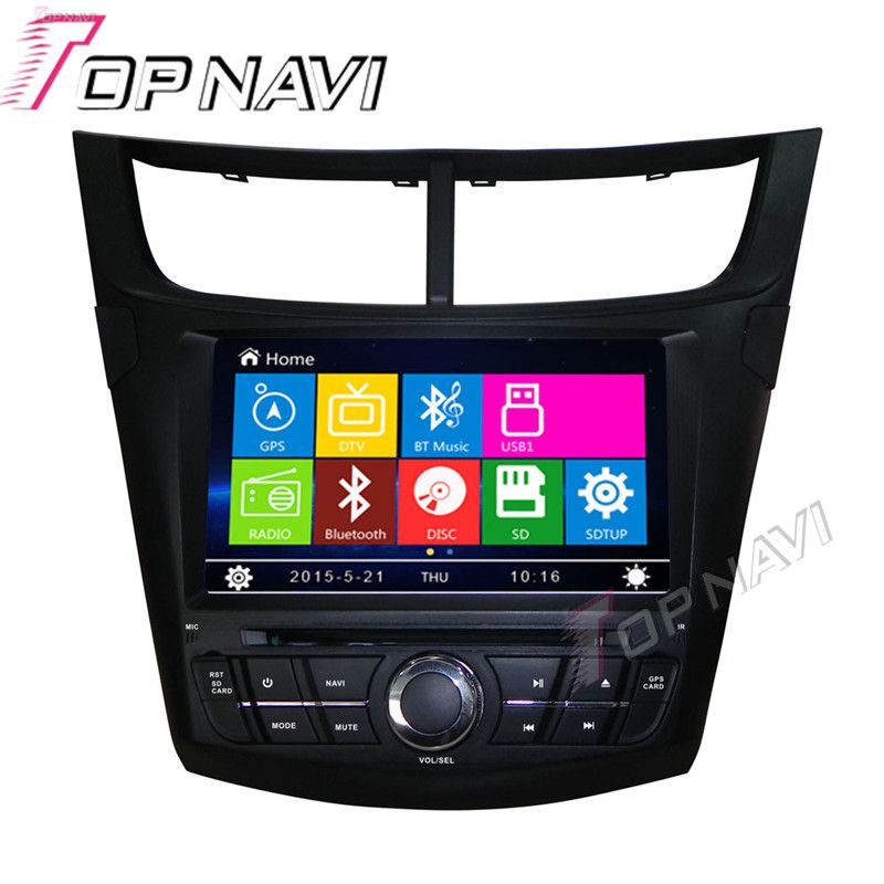 Wanusual 8 Car Dvd Gps For Chevrolet Aveo 2015 Low Version Car
