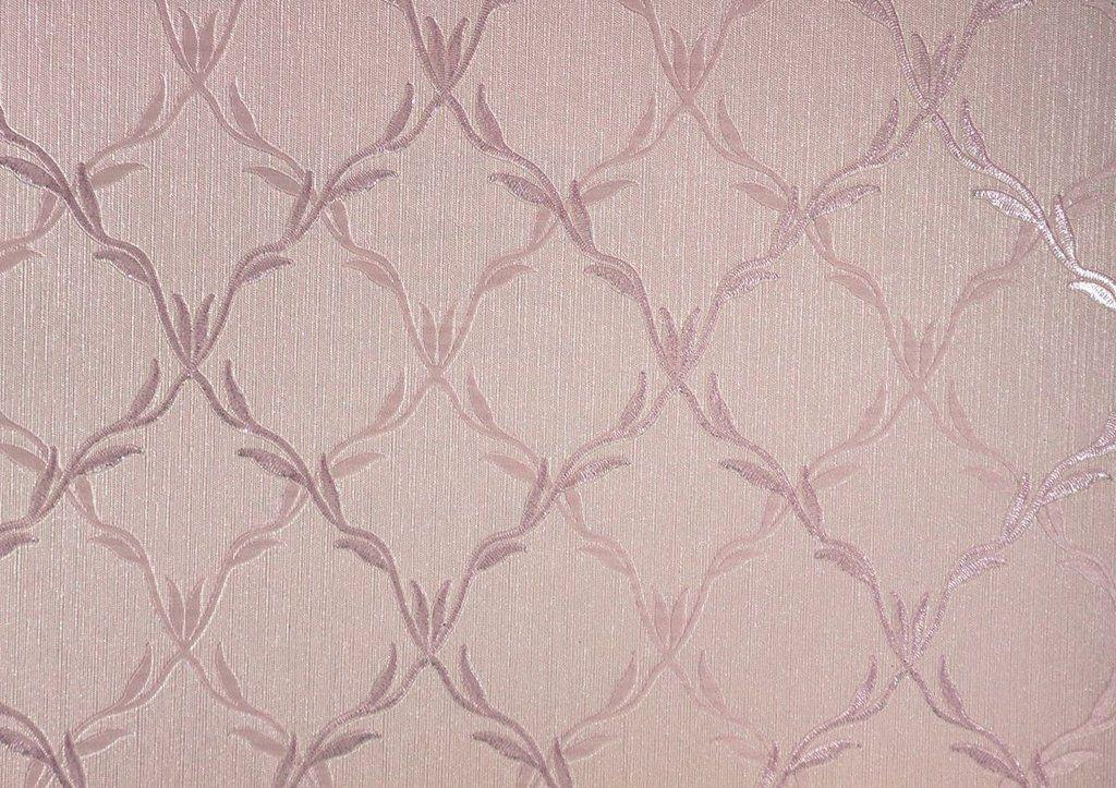 Papel de Parede Moda Em Casa Rosa com Lilás e Glit