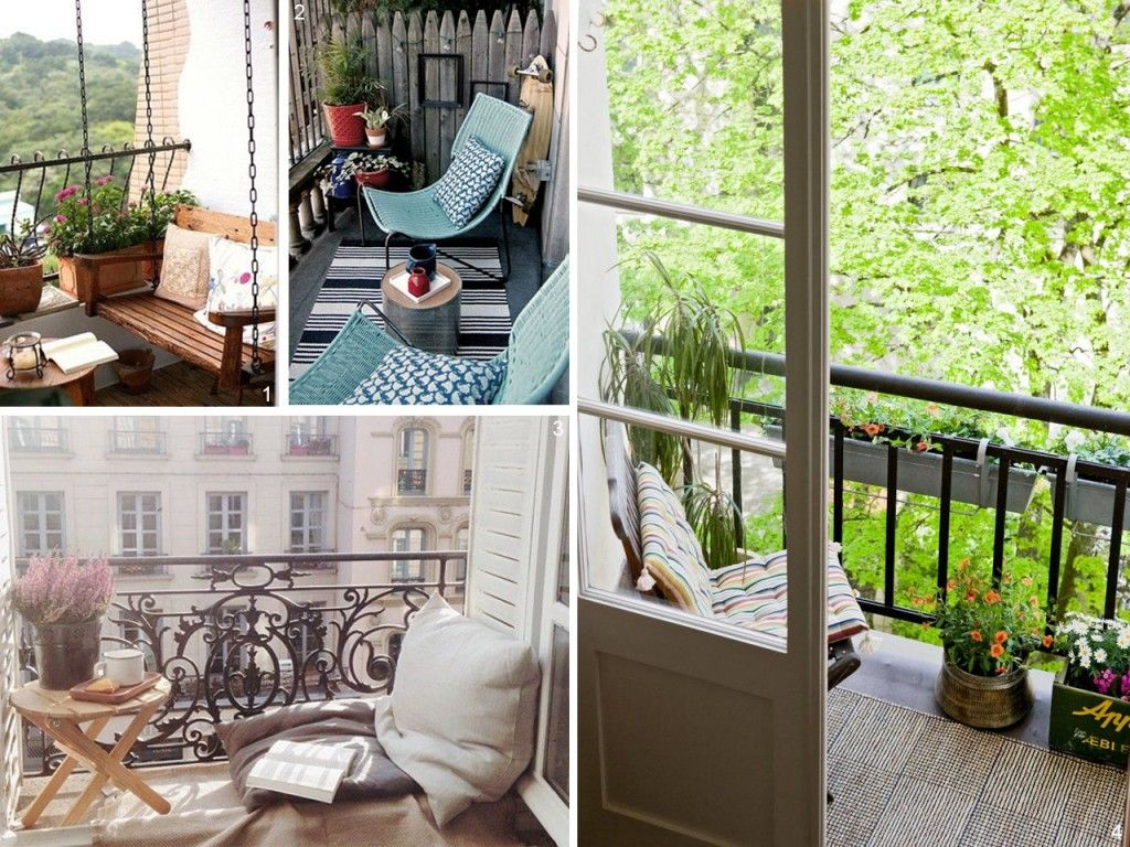 5 consejos para decorar balcones peque os con encanto - Decoracion de balcones pequenos ...