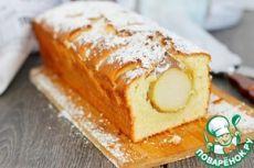 Творoжный кекс с грушами - кулинарный рецепт