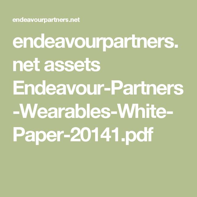 EndeavourpartnersNet Assets EndeavourPartnersWearablesWhite