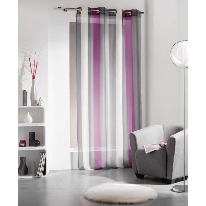 Rideau violet et gris zakelijksportnetwerkoost for Bon prix rideaux
