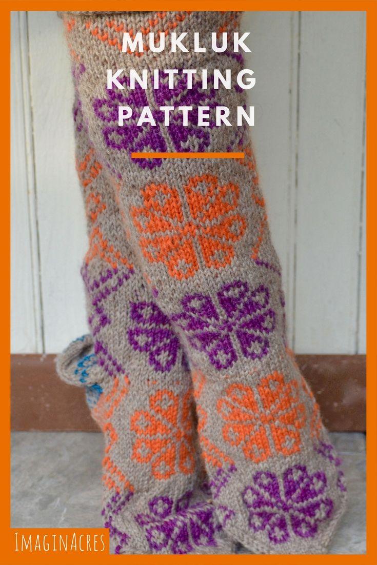 The Coziest Slippers: Mukluk Knitting Pattern