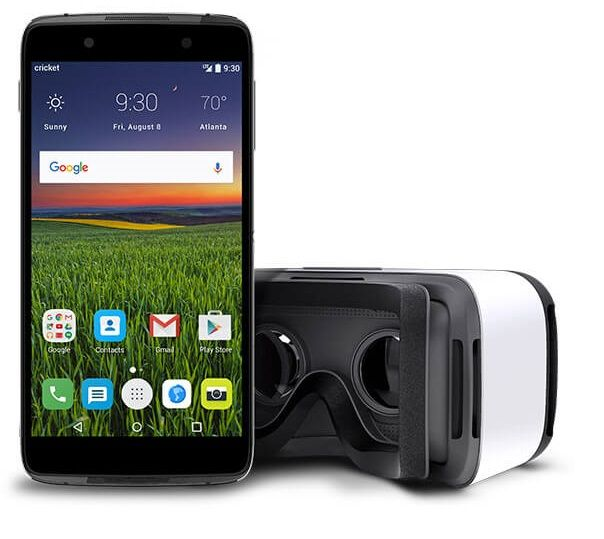 Cricket Selling The Alcatel Idol 4 With Vr Goggles For 99 99 Phone Cricket Wireless Smartphone