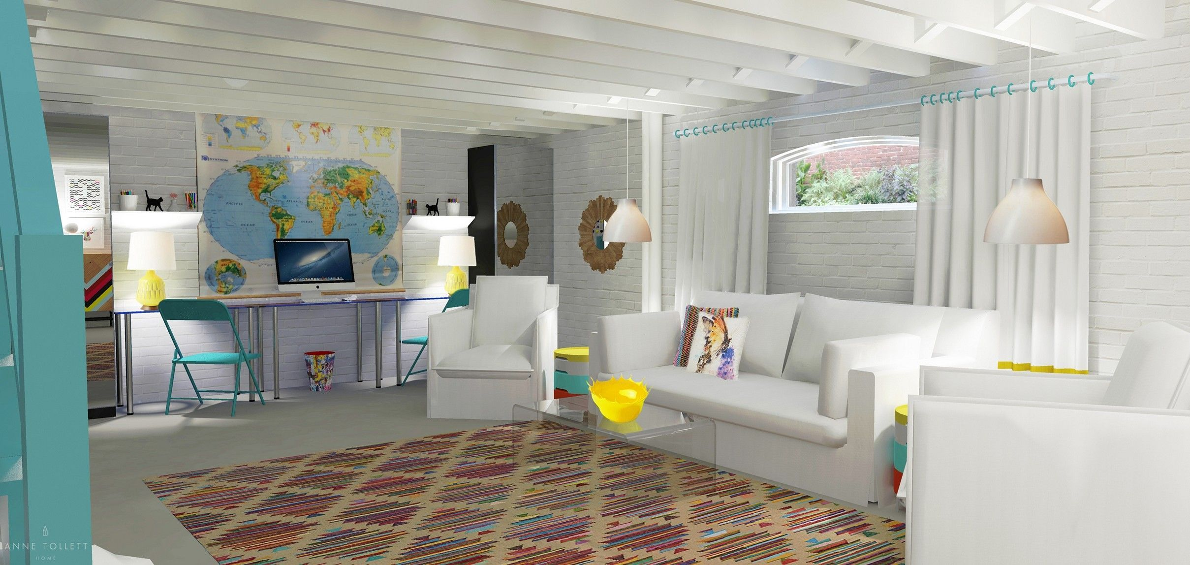 ways to make an unfinished basement ideas you should try small