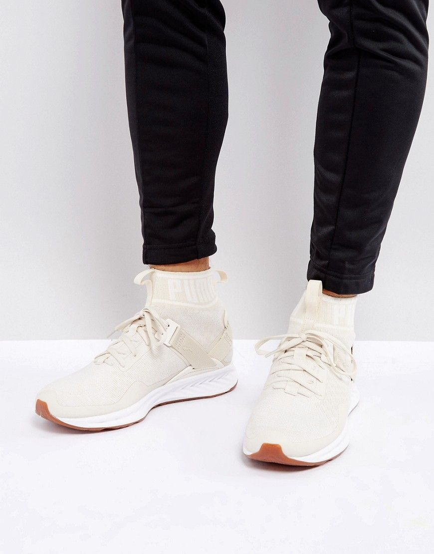 c7b95417e31 PUMA IGNITE EVOKNIT HYPERNATURE SNEAKERS IN BEIGE 19033702 - BEIGE.  puma   shoes