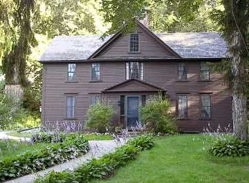 This Is Louisa May Alcott S House In Boston Massachusetts With