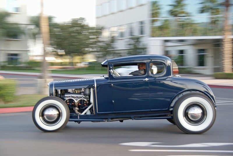Cut, Hammer, Weld, Drive!: white walls and Hot Rods  YES! | Hotrods