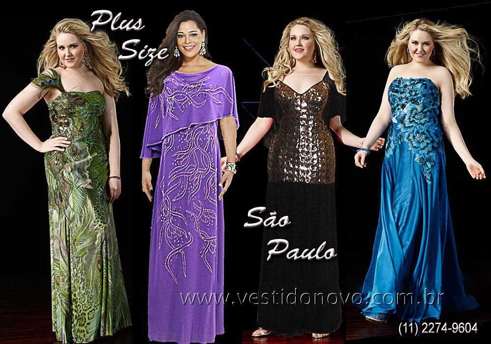 e6a7a0847 Vestidos Plus Size, tamanhos grandes, G, GG, extra G, confira em www ...
