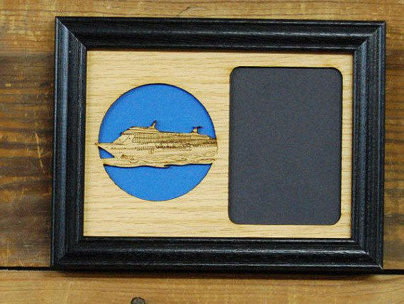 5x7 Cruise Ship Picture Frame, Vacation Picture Frame, Travel ...