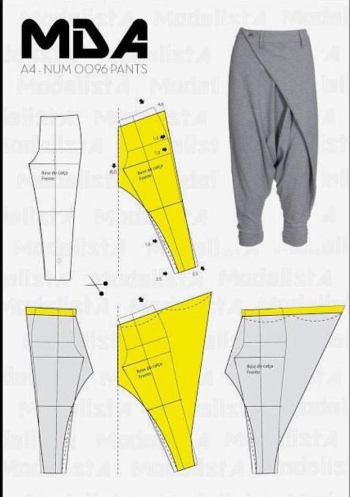 Resultado de imagen para como hacer un pantalon aladino | vestuarios ...