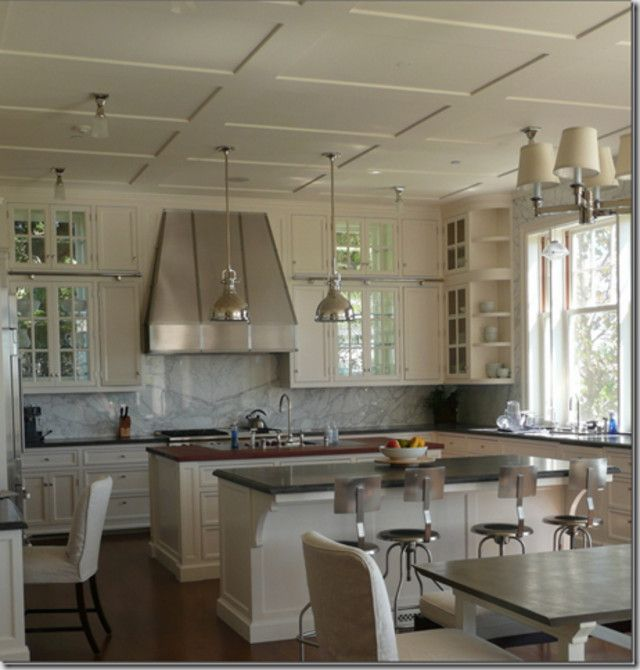 Kitchen Cabinets To Ceiling Pictures: RE: 11 Ft. Ceilings / Cabinets To The