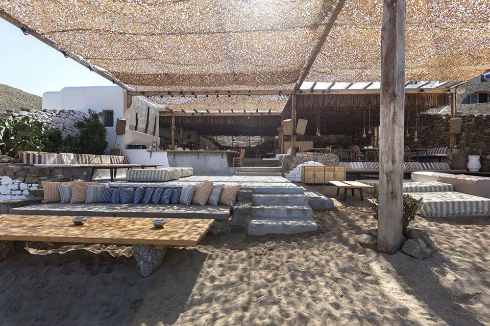 Alemagou Mykonos Beach Bar Restaurant Mykonos Greece