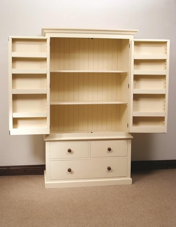 Best Pine Larder Unit Oak Free Standing Kitchens The Most 640 x 480