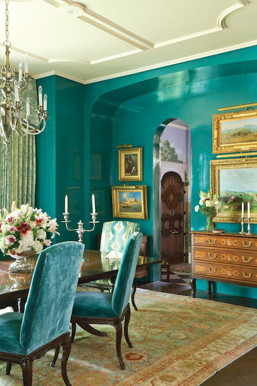 55 Vintage Victorian Dining Room Decor Ideas  Victorian Dining Interesting Victorian Dining Room Decor 2018