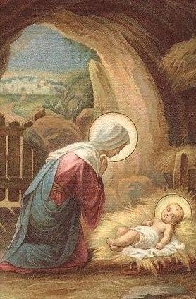Resultado de imagen para Maria en la gruta de belen