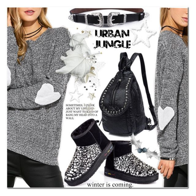"""""""Heart"""" by jecakns ❤ liked on Polyvore featuring Børn"""
